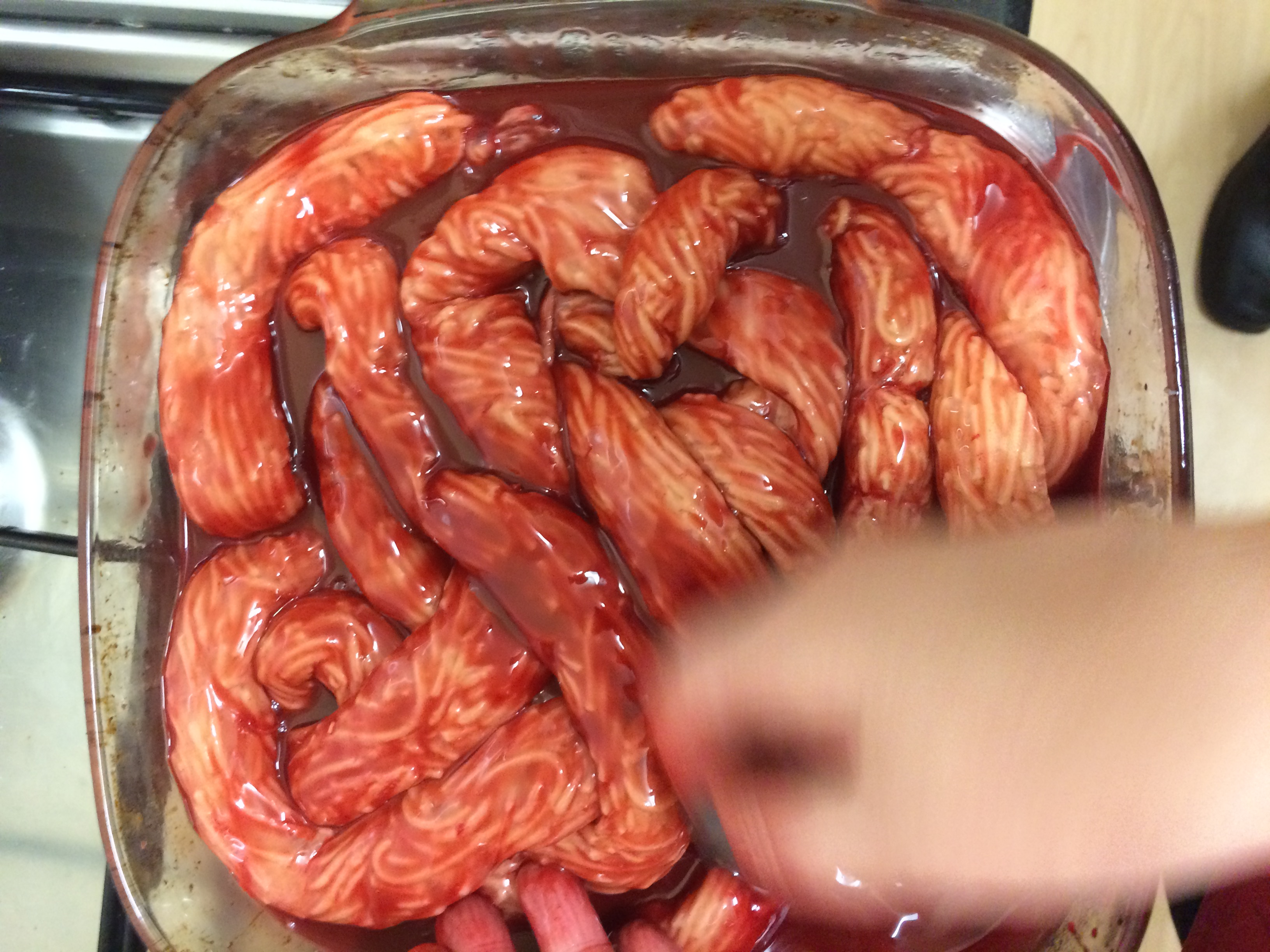 Making intestines