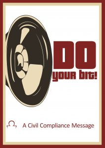 A Civil Compliance Message