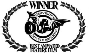 """Best Animated Feature Film"" at the Maverick Movie Awards 2016"
